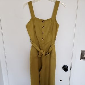 Nasty Gal Lime Jumpsuit